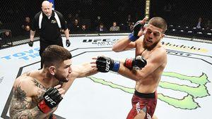 Австрийский чеченец Наурдиев проиграл второй бой в UFC. Его считали перспективным полусредневесом