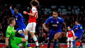 «Олимпиакос» напоследних минутах вырвал у«Арсенала» путевку в1/8 финала Лиги Европы