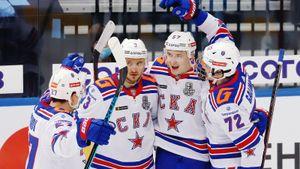 СКА победил минское «Динамо» в овертайме и повел в серии 3-0