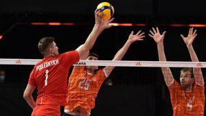 Российские волейболисты обыграли Нидерланды на старте Лиги наций