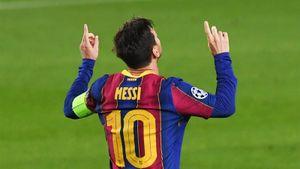 Месси забил 600-й гол за «Барселону», выступая под №10