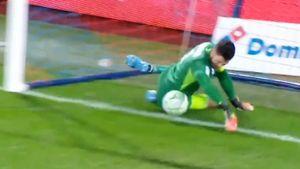 Вратарь «Гренобля» в простой ситуации забросил мяч в свои ворота. Видео курьезного автогола