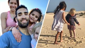 Как выглядят жена Фуркада и его дети, ради которых он завязал с биатлоном: фото