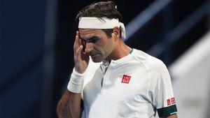 Федерер проиграл Басилашвили в четвертьфинале турнира в Дохе
