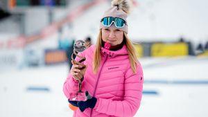 Самая веселая и жесткая русская биатлонистка — новичок года. Она круто стреляет и жжет в соцсетях