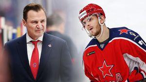 ЦСКА уговорил свою звезду не ехать в Америку, а теперь Окулов сидит в запасе. Как Федоров задвигает яркого форварда