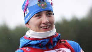 Миронова первой из русских биатлонисток заехала в топ-10 в новом сезоне. На подиуме же сразу 2 сестры Эберг