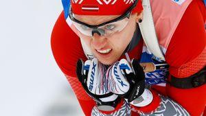 Латвийка Бендика на прошлой неделе боролась за медаль на биатлонном ЧМ, а теперь готовится выигрывать в лыжах
