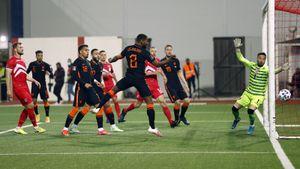 Сборная Голландии забила 7 голов Гибралтару. Турция упустила победу над Латвией
