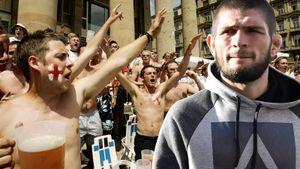Угрозы тренеру «МЮ», отношение к выпивке, религия и толпа пьяных фанатов. Хабиб ответил на кучу вопросов англичан