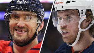Овечкин попал впервое звено всписке лучших форвардов НХЛ за10 лет поверсии NBC, Макдэвида нет