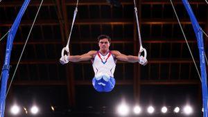 Российские гимнасты завоевали золото в командном турнире на Олимпиаде
