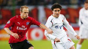 В 2006-м русский гол признали лучшим на групповом этапе Лиги чемпионов. Жирков обвел полсостава «Гамбурга»: видео