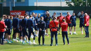 В общей группе сборной России тренируются 26 футболистов