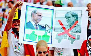 Голосование немцев за Путина, спагетти на голове Неймара. 10 лучших фото четвертого дня ЧМ