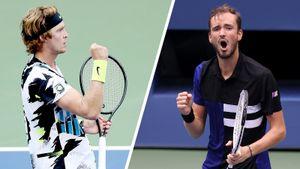 «Можно снова начинать смотреть теннис». Фанаты в восторге от матча Медведева и Рублева