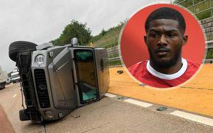 Игрок «Арсенала» Мэйтленд-Найлз попал в автокатастрофу