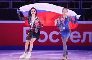 Медведева объяснила, почему Косторную, Щербакову иТрусову ненужно называть юными фигуристками