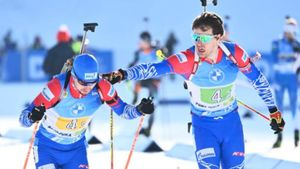 Сборная Норвегии выиграла мужскую эстафету на ЧМ по биатлону, Россия — 3-я