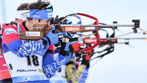 Латыпов завоевал серебро в масс-старте в Эстерсунде, победил Дестье
