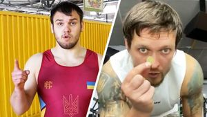 Украинский борец Грицай, вызвавший на бой Усика: «Похоже, что его ролик снимали российские политтехнологи»