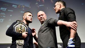 Хрюнов: «Бой Хабиба иФергюсона нужно проводить вРоссии. Яуже отправил предложение главе UFC Уайту»