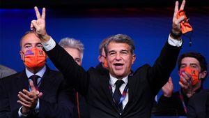 «Барселона» входит в новую эру. Лапорта — новый президент, и теперь Месси вряд ли покинет родной клуб