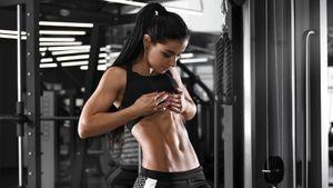 Комплекс упражнений для плоского живота и сильного пресса