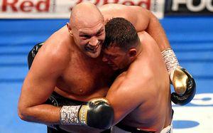 Болельщики подрались во время боя Фьюри. Это было интереснее происходящего на ринге