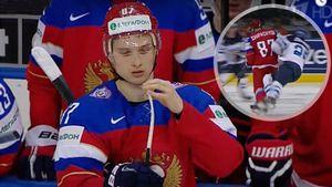 Отправил в нокаут жестким ударом с локтя в голову. Как русский хоккеист Шипачев уложил финна на ЧМ: видео