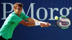 Русский теннисист Кузнецов не играл почти 3 года. Вернулся с разгромной победой на US Open — над американцем Куэрри
