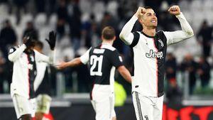 Роналду втоп-форме: забил в7 матчах подряд исравнялся сМесси поголам. Нона26 минут