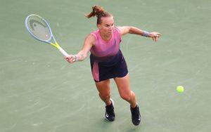 Российская теннисистка Кузнецова победила украинку Свитолину на турнире в Дубае
