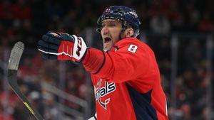 Овечкин снова переписал историю НХЛ. 436 голов Александра Великого— лучший результат десятилетия