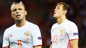 Футболисты сборной России рассказали одраке наЕвро-2016: Дзюба признался, что чуть незадушил Глушакова
