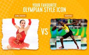 Загитова претендует на звание олимпийской иконы стиля. В четвертьфинале ей противостоит Усэйн Болт