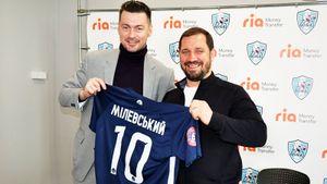 Скандальный украинский футболист Милевский еще играет! В 35 лет будет гонять за клуб из села — «Минай»