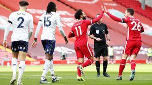 «Ливерпуль» впервые в 2021 году забил на «Энфилде» с игры в АПЛ