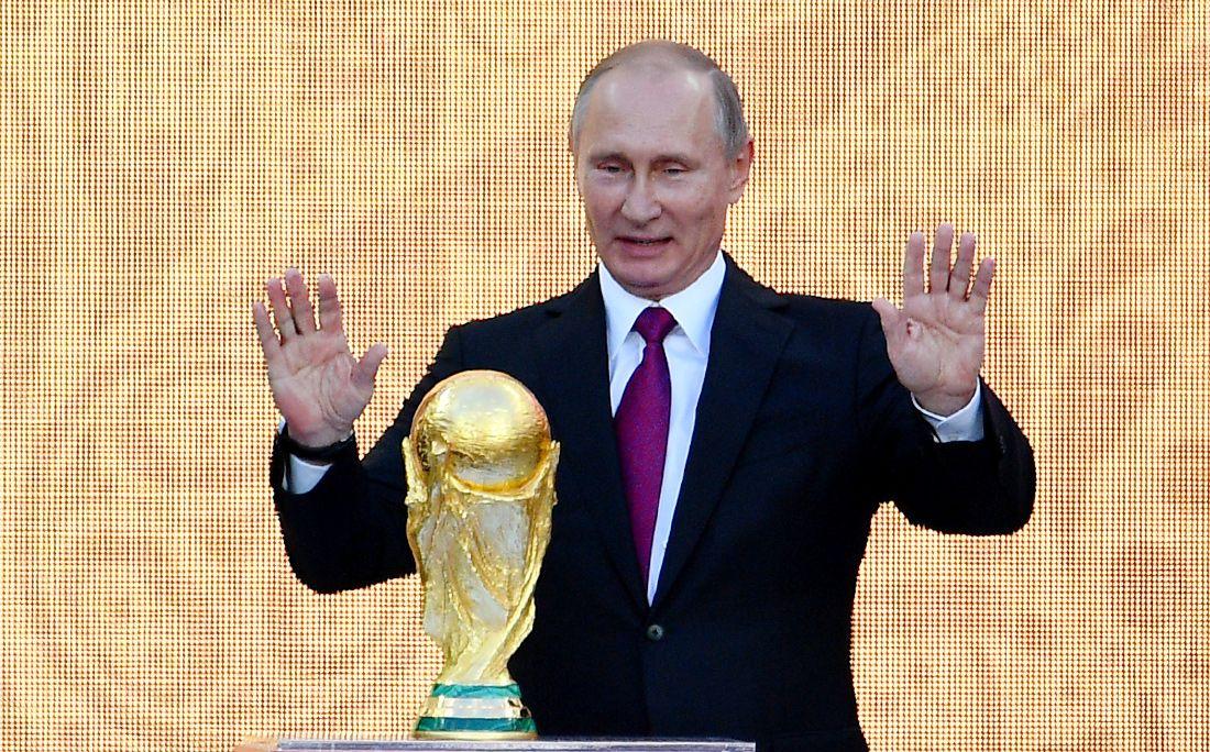 Путин объявил, что наЧМ-2018 победят организаторыЧМ
