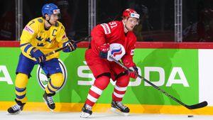 «Красная машина» выбила Швецию с ЧМ в Риге! Орлов и Тарасенко сыграли ключевую роль в победе. Как это было