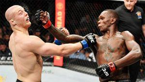 Чемпион UFC 25 минут избивал дерзкого бойца из Италии. Веттори обещал «прикончить» Адесанью, но что-то пошло не так