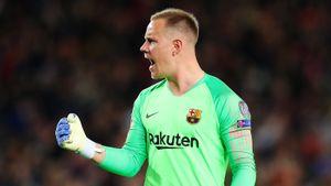 «Барселона» продлила контракты с Пике, тер Штегеном, де Йонгом и Лангле