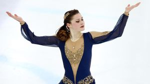 Ученица Мишина Гулякова— чемпионка финала Кубка России. Ноеепрограмма слабее, чем уюниорок
