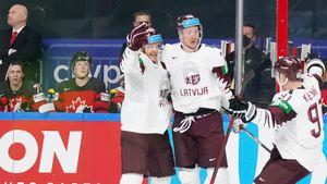 Сборная Латвии обыграла Канаду на групповом этапе ЧМ-2021