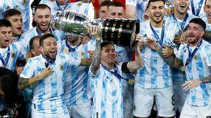 Исторический финал Кубка Америки: Аргентина обыграла Бразилию, Месси наконец-то взял первый трофей за сборную