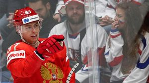 «Красная машина» обыграла Чехию! Первый «сухарь» Василевского на ЧМ. Как это было