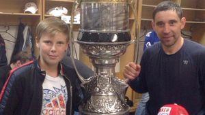 Сын российского хоккеиста Зарипова забил буллит при помощи необычного финта