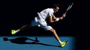 Главный русский теннисист Медведев начал Australian Open с разгромной победы. Даня не проигрывает 15 матчей подряд