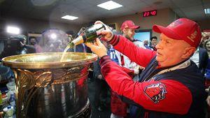 Из-за коронавируса КХЛ не стала вручать Кубок Гагарина. Но чемпионом России должен стать ЦСКА