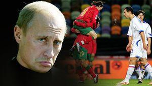 «Пригласил Путин и спросил, что это было». 16 лет самому крупному поражению сборной России — 1:7 от Португалии